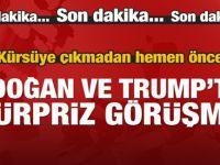 Erdoğan ve Trump BM Genel Kurulu'nda görüştü!