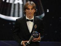 Modric, 'FIFA Yılın En İyi Erkek Futbolcusu Ödülü'nü Kazandı