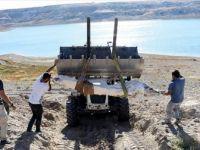 Kayseri'de Bulunan 7,5 Milyon Yıllık Fosiller Özel Yöntemle Taşındı