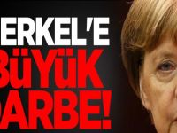 Almanya Başbakanı Merkel'e kötü sürpriz!