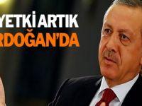 Erdoğan'a bir yetki daha verildi - Son Dakika
