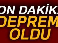 İstanbul ve İzmir'de hissedilen deprem oldu