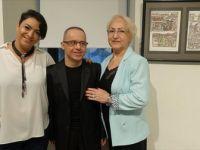 Down Sendromlu Ressam Baskan'ın 'Meleğin Kaleminden' Sergisi