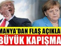 Almanya ABD'ye resti çekti : Çok sert açıklama