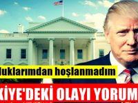 Amerika Birleşik Devletleri Lideri Trump'dan Flaş Türkiye açıklaması