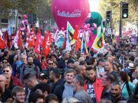 Fransa'da Emmanuel Macron ve Hükümet Karşıtı Olaylı Gösteri