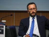 Cumhurbaşkanlığı İletişim Başkanı Altun'dan 'Brunson' Açıklaması