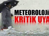 Meteorolojiden Sağanak Uyarısı : Yarın bu illere dikkat