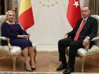 Romanya Başbakanı Viorica Dancila Ankara'da
