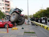 Ankara'da 'Traktör' Alarmı