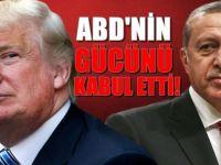 FR: Erdoğan ABD'nin gücünü sonunda kabul etti
