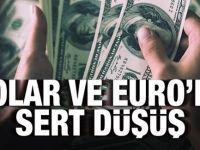 Piyasalara oh dedirten gelişme : Dolar ve euroda sert düşüş!