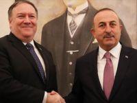 Bakan Çavuşoğlu ABD'li Mevkidaşı Mike Pompeo ile Görüştü