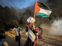 İsrail Askerleri Filistinlileri Yıldırmıyor