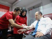Bakan Varank, TÜRKÖK için İlik Donörü Oldu
