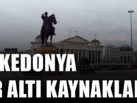Makedonya'da bulunan yer altı kaynakları ve madenler
