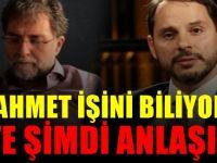 Ahmet Hakan'ın Berat Albayrak'a verdiği desteğin nedeni...
