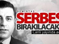 HDP'den Demirtaş iddiası: Serbest kalabilir