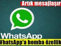 WhatsApp'a Şaşırtan özellik! Artık mesajlaşırken...