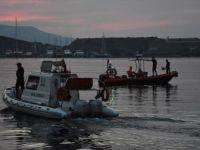 Muğla Açıklarında Düzensiz Göçmenleri Taşıyan Tekne Battı