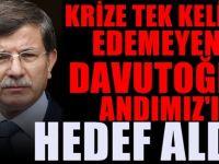 Ahmet Davutoğlu'ndan tepki çeken 'Andımız' yorumu