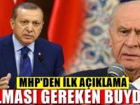 Masayı deviren MHP'den şok açıklama : 'YETER ARTIK'