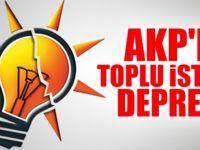 AKP'de toplu istifa : Hepsi bıraktı