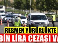 Trafikte yapan yanacak : Resmi gazetede yayımlandı