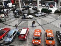 """Klasik Araçların 'Cumhuriyet Rallisi"""" Başladı"""
