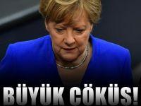 Almanya'da böylesi bir ilk oldu : Çöküş hızlandı