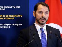 Bakan Albayrak'ın Açıkladığı ÖTV ve KDV indiriminin detayları belli oldu