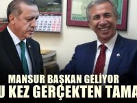 AKP anketinden bile Mansur Yavaş çıktı! Gümbür gümbür sonuçlar