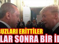 Erdoğan ile Trump'dan aylar sonra bir ilk