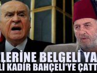 Atatürk Düşmanı Fesli Kadir Bahçeli'ye ateş püskürdü
