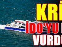 İDO iç hatları kapatıyor : Yüzbinlerce İstanbullu şokta