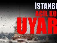 Meteorolojiden İstanbul'a uyarı : Yaşanacak hadiseler..