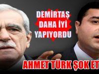 Ahmet Türk'ten Demirtaş açıklaması: Daha iyi yapıyordu