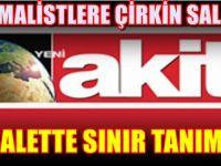 Akit yine rezalet çıkardı! Atatürk'e büyük saygısızlık