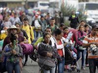 Orta Amerikalı Göçmenler Amerikan Sınırına Ulaştı