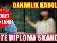 Sahte diploma rezaletinde yeni gelişme