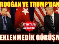 Erdoğan İle Trump'dan flaş görüşme