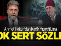 Ahmet Hakan: Sahtekar da sensin ahmak da!