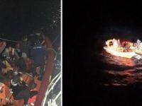 Muğla Bodrum Açıklarında Düzensiz Göçmenleri Taşıyan Tekne Battı