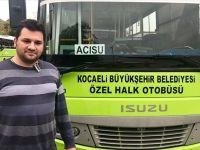 Otobüs Şoföründen herkese örnek olacak bir davranış!