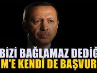 Erdoğan'a cezaevi hatırlatması: Sen de başvurdun