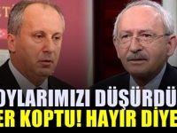 """Kılıçdaroğlu Muharrem İnce'ye """"Hayır…"""" diyecek"""