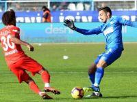 Erzurumspor Tek Golle Kazandı, Erzurumspor 1-0 Antalyaspor