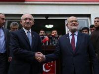 CHP Genel Başkanı Kılıçdaroğlu'ndan Karamollaoğlu'na Ziyaret