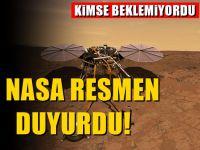 Nasa Mars'dan indirme kararı aldı :