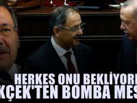 Melih Gökçek'ten Mehmet Özhaseki mesajı